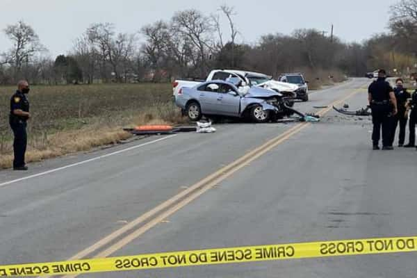 News Two killed in car crash